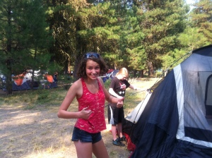 Yay, tents!